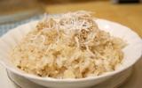 Bữa sáng cuối tuần với xôi dừa
