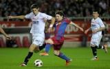 Sevilla buộc Barca chia điểm