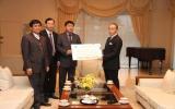 PetroVietnam ủng hộ 100 ngàn USD cho nạn nhân động đất tại Nhật Bản