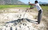 Ninh Thuận: Xuất hiện các ụ bùn bí hiểm