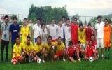 Huyện Đoàn Bến Cát tổ chức giải bóng đá mini cho cán bộ Đoàn