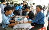 160 đoàn viên thanh niên tham gia hiến máu tình nguyện