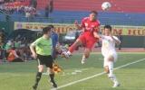 Đấu sớm vòng 9 V-League, B.Bình Dương - HN T&T (1-1):  B.Bình Dương vuột chiến thắng!