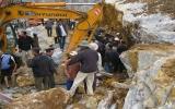 Sập mỏ, 8 người đã chết, 40 người đang bị vùi lấp
