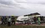 Máy bay Liên hiệp quốc gặp nạn tại Congo, 32 người chết