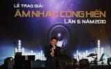Giải Âm nhạc Cống hiến 2010: Tùng Dương đoạt thắng lợi kép
