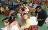 """BQL dự án """"Chăm sóc phát triển trẻ thơ"""" tỉnh làm việc với chuyên gia quốc tế về chăm sóc trẻ thơ"""