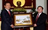 Chủ tịch UBND tỉnh Lê Thanh Cung: Tiếp đoàn công tác quận Yeongdo - Busan, Hàn Quốc