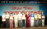 Hội thi TTLĐ tỉnh Bình Dương năm 2011: Trung tâm VH-TT huyện Dầu Tiếng đoạt giải kịch bản hay nhất