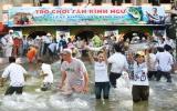 Hơn 300.000 lượt khách đến tham quan Khu du lịch Văn hóa Suối Tiên dịp lễ 30-4 và 1-5
