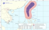 Bão AERE ảnh hưởng tới biển Đông