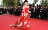 Váy của Phạm Băng Băng gây tranh cãi tại Cannes