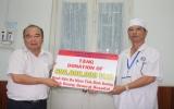 VSIP trao 600 triệu đồng cho Quỹ vì bệnh nhân nghèo Bệnh viện Đa khoa tỉnh Bình Dương