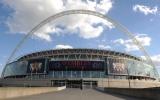 Sân Wembley rực rỡ trước giờ bóng lăn trận chung kết C1