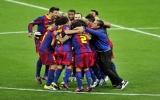 Barcelona tận hưởng giây phút đăng quang