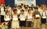 Tuyên dương khen thưởng: Động lực giúp học sinh học tốt