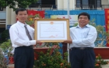 Trường THCS Trần Hưng Đạo (Phú Giáo): Đón nhận bằng khen của Thủ tướng Chính phủ
