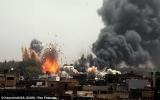 NATO tấn công ác liệt nhất vào thủ đô Tripoli