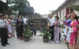 Đình thần Dĩ An đón nhận bằng Di tích Lịch sử - Văn hoá cấp tỉnh