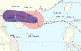 Khẩn trương phòng chống bão Haima