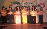Hội thi Hương sắc miệt vườn: Thí sinh Trần Thị Thanh Trúc và Nguyễn Thị Loan đoạt giải nhất