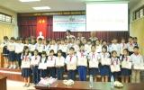 Tôn Đông Á tiếp sức Mùa hè xanh và trao học bổng sinh viên
