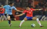 Thần đồng Sanchez cứu Chile thoát thua trước Uruguay