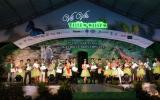 Lê Thị Lan và Bùi Đức Vũ đoạt giải nhất người đẹp VSIP 2011