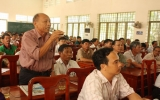 Đại biểu HĐND tỉnh, huyện tiếp xúc cử tri Phú Giáo