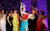 Ngọc Trinh đăng quang Hoa hậu Việt Nam Quốc tế