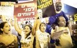 Biểu tình lớn đã lan tới Israel
