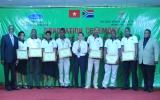 Bế giảng khóa đào tạo kỹ năng chế biến gỗ cho các học viên Nam Phi