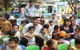 PG Bank Bình Dương tặng quà các cháu tại Trung tâm Nhân đạo Quê Hương