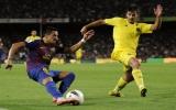 """Messi lập cú đúp giúp Barcelona """"vùi dập"""" Villarreal"""