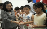 Đêm hội trung thu cho các CLB Trẻ em và phòng chống HIV/AIDS