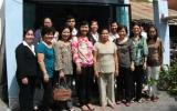 Công ty TNHH Gỗ Mỹ nghệ Kim Hưng trao mái ấm tình thương cho phụ nữ nghèo