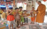Thăm và tặng quà trung thu cho thiếu nhi tại Chùa Thiên Ân