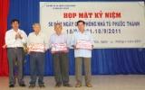 Họp mặt kỷ niệm 50 năm ngày giải phóng Nhà tù Phước Thành