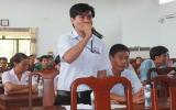 Lãnh đạo tỉnh tiếp xúc với công nhân lao động huyện Tân Uyên