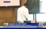 Bị cáo thản nhiên... tiểu trong phòng xử