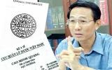 Bộ Y tế yêu cầu Thứ trưởng Cao Minh Quang giải trình