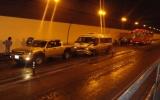Tai nạn liên hoàn trong hầm Hải Vân, 5 người bị thương