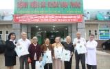 Bệnh viện Đa khoa Vạn Phúc khám bệnh, phát thuốc miễn phí cho người cao tuổi