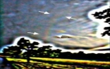Lần đầu chụp được ảnh cầu vồng bậc 4 trên bầu trời
