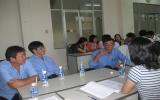 Tập huấn về phòng, chống HIV/AIDS cho phóng viên
