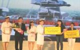 """Tân Hiệp Phát trao tặng 168 triệu đồng vào """"Quỹ vì người nghèo"""" tỉnh và TX.Thuận An"""