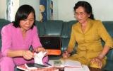 Những phụ nữ nhiệt tình với công tác xã hội từ thiện