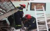 Hà Nội: Nổ gas gây sập nhà, 2 cháu bé tử vong