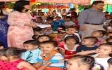 Giúp trẻ em từ những CLB Phụ nữ tiếp sức