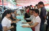 Hơn 2.000 lao động tham gia trực tiếp phiên giao dịch việc làm lần 41
